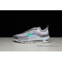 P26 OFF-WHITE X Nike Air Max 97 Bullet Running Shoes Collaboration Publishing Women Shoes And Men Shoes AJ4585-012 Discount