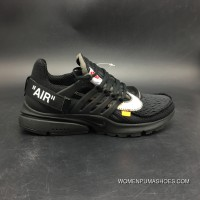 Nike OFF-WHITE Air All Black Color Version 2.0 X SKU Size7 AA3830-001-12 For Sale