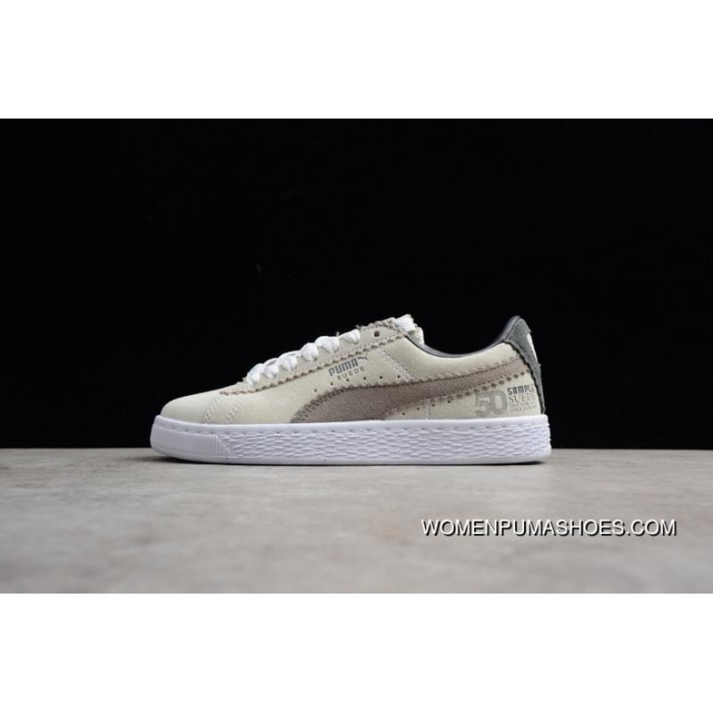 Puma The 50th Anniversary Of The Grey Around 36631301 Women Shoes And Men Shoes New Style