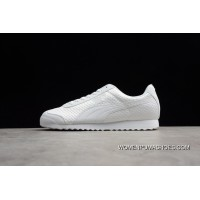 Outlet Puma Rome Series Mesh All White Men Shoes 362179-06