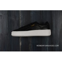 Free Shipping Puma Basket Platform Rihanna 2.0 Simplified Full Skin Black White 364040-03