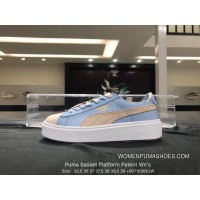 Puma Basket Platform Patent Being Rihanna 366364-01 Casual Sneaker Candy Color Size 90710 Super Deals