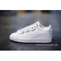 Puma Court Star Vulc LOGO366841-04 All White New Release