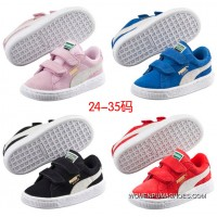 High Quality All The Puma Fur Kids Shoes Yards Discount
