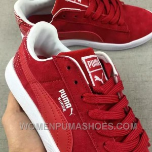 Puma Men Leisure Sneaker Md Outsole Pig Leather Red Lastest Jn7kR