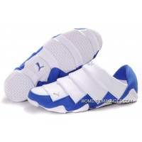 Puma Mummy Lazy Bugs Low White Blue Women Men Lastest