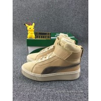 Puma Platform Mid Womens Brown New Release
