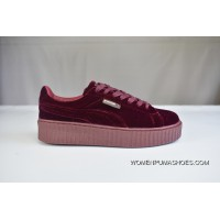 200 Welcome To Archives Mouths Consulting Red Velvet Puma Rihanna Flatform Shoes Creeper Fashion Sneakers In 364466-02 Super Deals