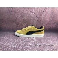 Puma In The Spring Of 2018 The New Picking Sport Shoes Suede Retro Low Fashion Casual Sneaker DF Yang Yang A 365587-03 Ferrari Yellow 13 Size 37-37.5-35.5-36-38-38.5-39-40-40 Top Deals