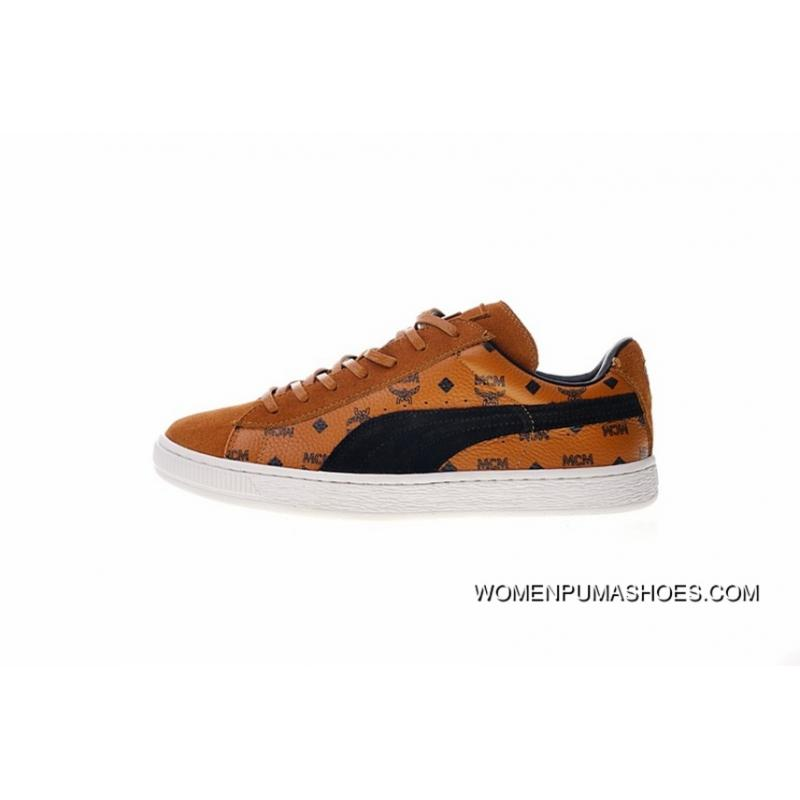 get cheap 35622 64671 MCM X Puma Suede Classic 50 Anniversary MCM 366299-0 Brown Best