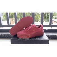 Puma Rihanna Suede Creepers Fenty By Rihanna 36-44 Women/men Super Deals PyKpa