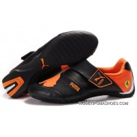 Womens Puma Baylee Future Cat Ii In Black/Orange Best