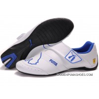 Womens Puma Baylee Future Cat Ii In Blue/White Usa Free Shipping