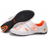 Womens Puma Baylee Future Cat Ii In Orange/White Online