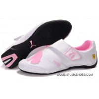 Womens Puma Baylee Future Cat Ii In White/Pink Latest