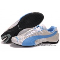 Womens Puma Future Cat Carve Blue/White Best