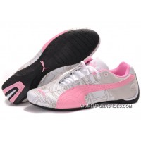 Womens Puma Future Cat Carve Pink/White Discount