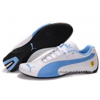 Womens Puma Future Cat Gt Ferrari Blue/White Top Deals