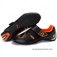 Womens Puma Baylee Future Cat In Black-Orange-Ii New Release