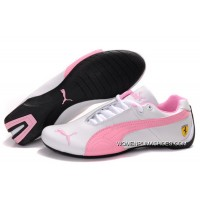 Womens Puma Future Cat Gt Ferrari Pink/White Copuon