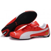 Womens Puma Future Cat Gt Ferrari Red/White Discount