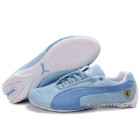 Womens Puma Future Cat In Blue/White Copuon