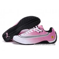 Womens Puma Future Cat In Pink/White Best