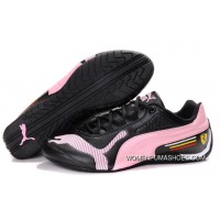 Womens Puma Future Cat Low In Black/Pink Best