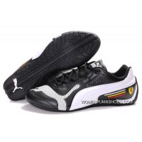 Womens Puma Future Cat Low In Black/White New Release