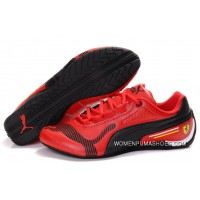 Womens Puma Future Cat Low In Red/Black Online