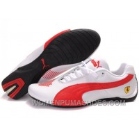 Womens Puma Future Cat Low White Red Shoes Discount CA8eh