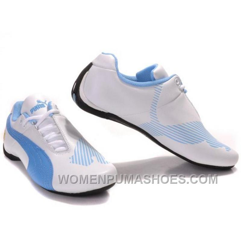 ... Womens Puma Future Cat Low White Blue Shoes For Sale YQAfy ...