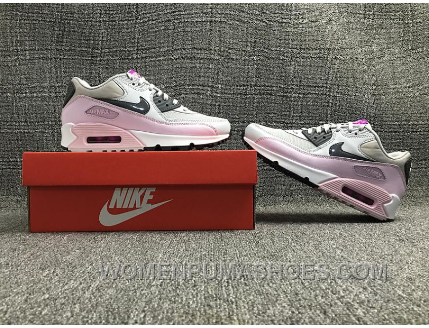 AIR MAX 90 616730-112 Nike Max Women White Pink New Style KNMGZYD