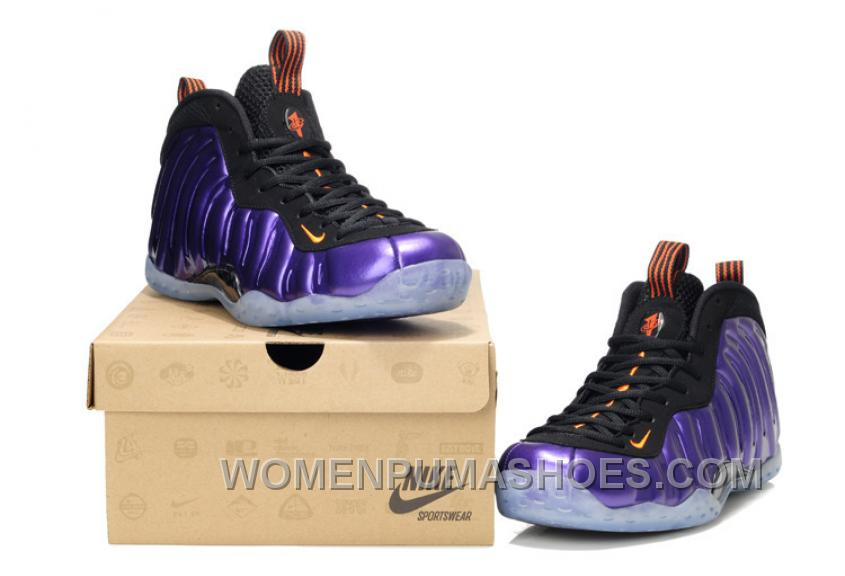 separation shoes bd567 86582 NIke Air Foamposite One Phoenix Suns Electro Purple Orange 314996-501  Discount MpHfnnY