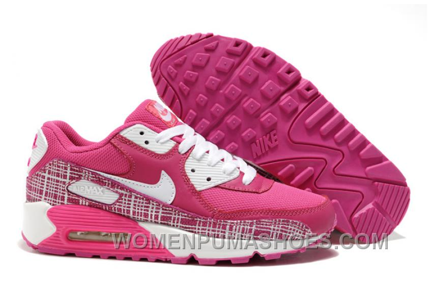 Nike Air Max 90 Womens Rose White Authentic IBCi3