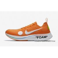Off-White X Nike Zoom Fly Mercurial Flyknit OW AO2115-800 Orange 2018 Russia FIFA World Cup New Release