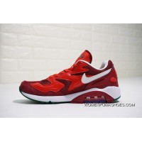 Nike Air Max 180 OG 2104042-603 2018 Russia FIFA World Cup Portuguesa BURGUNDY RED New Style