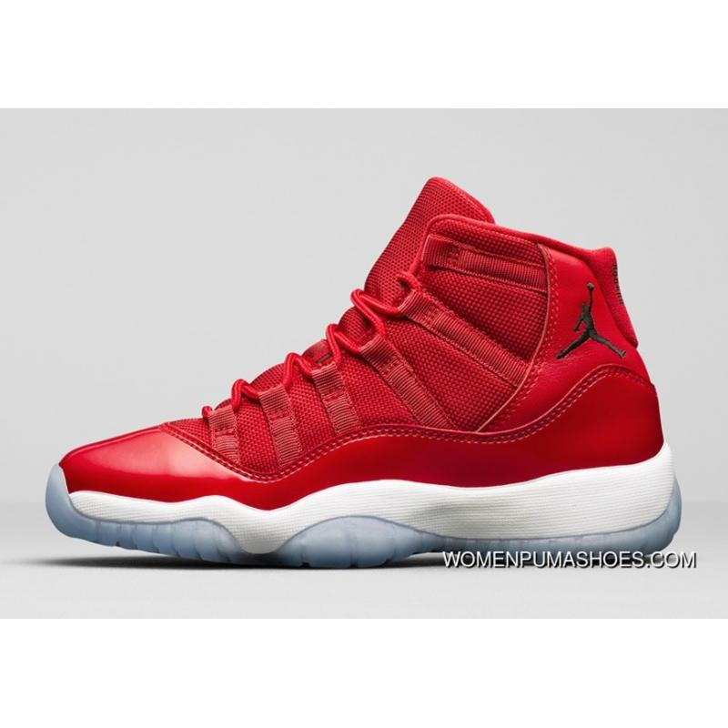 "abf65545793b Nike Air Jordan 11 Retro Low ""Red"" PE Carmelo Anthony Red White ..."