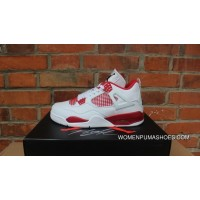 Aj4 Air Jordan 4 White Red Bulls Pe Couple Mark 4 Alternate 89 308497-104 Online