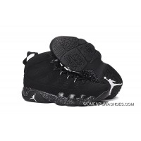 Jordan 9 High-4 Black WHite Point Copuon