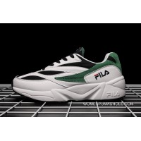 South Korea Fila Han Fan Dad Sneakers Clunky Sneaker Dad Shoes 2018 New Height Increasing The Bottom Of The Thick Retro Couple Casual Shoes White Black Green Outlet