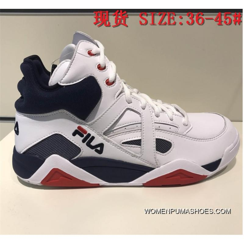 Fila 2018 New Cage Women And Men Fashion Casual Retro Basketball Shoes Top Deals