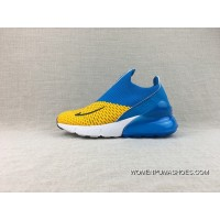 Nike Kids Shoes AIR MAX 270 Zoom Running Shoes Women And Men Casual Sport Shoes AH8050-031 Top Deals