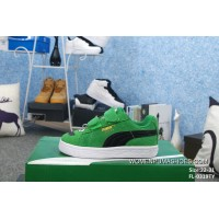 Kids Puma Cabana Racer Green For Sale