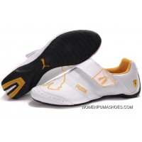 Mens Puma Baylee Future Cat Ii In White/Yellow Outlet