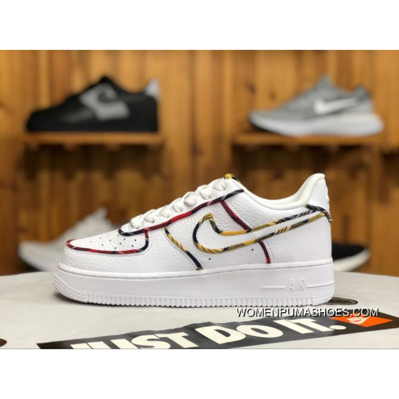 Nike Air Force One Af1 Tartan Air Max Zoom The Scottish Sneakers Av8218 100 Women Shoes And Men Shoes Free Shipping