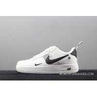 Nike Air Force One AF1 '07 Lv8 Utility White/White-Black-Tour Yellow Online