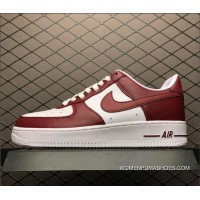 Nike Air Force One Low Red White AQ4134-600 Men's Size Copuon