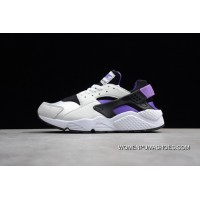 Huarache A Generation White Purple Ah8049-001 Women Shoes And Men Shoes New Release