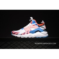 Huarache 4 Mesh Breathable Air Max Zoom Collaboration Rainbow Amusement Park Rainbow Match SKU 847568-101 Copuon